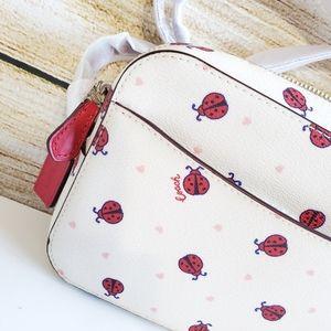 Coach Bags - NWT Coach Ladybug Mini Crossbody bag 🐞